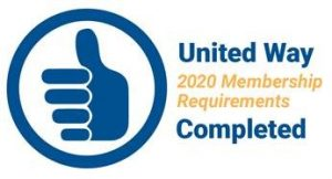 2020 United Way Membership Requirements Completed